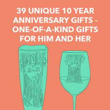 39 unique 10 year anniversary gifts