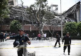 Resultado de imagen para Al menos 149 muertos tras  terremoto de magnitud 7,1 en México