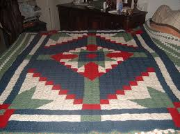 79 best Crochet Patchwork Quilt Afghans images on Pinterest ... & I crocheted this afghan to look like a quilt. Adamdwight.com
