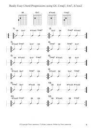 Guitar Chord Patterns Interesting Decorating