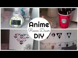 anime inspired room decor diy ita