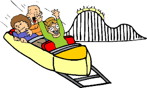 Image result for roller coaster clipart