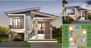 The interior plan of this house consists of 3 bedrooms, 3 bathrooms, living  room, kitchen, living room and fr… | House styles, Story house,  Contemporary house plans