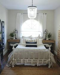 farmhouse bedroom ideas you have to see this farmhouse bedroom decor idea with a crystal chandelier love farmhouse master bedroom paint colors farmhouse