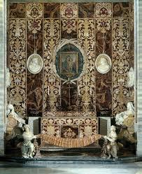 Italian Baroque Interior Design Francesco Borromini Cappella Spada In San Girolamo Della
