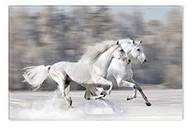 horses running. Fine Horses STARTONIGHT Wall Art Canvas Horses Running Fast USA Design For Home  Decor Dual To Running A
