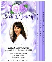 funeral flyer funeral flyer template free unique funeral flyers templates free