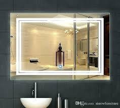 bathroom mirror with lighting. Diy Vanity Mirror With Led Lights Bathroom Inch X Lighted . Lighting