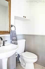 painting bathroom tips for beginners. i love this warm gray bead board! tips for painting wainscoting | maisondepax.com bathroom beginners