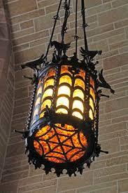 gothic lantern lighting. Wrought Iron Lantern (spider Web Base And Birds Encircling Top) Gothic Lighting