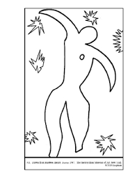 Matisse Henri Icarus Coloring Page And Lesson Plan Ideas Tpt