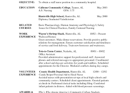 Objective Of A Nurse Awesome Collection Of Sample Resume For