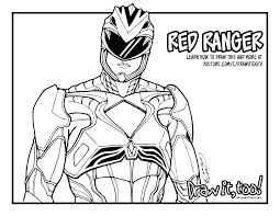 Power Rangers Megazord Coloring Pages At Getdrawingscom Free For