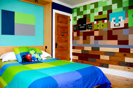 Minecraft Bedroom Stuff Need A Few Minecraft Ideas For Your Kids Bedroom Heres What We Did