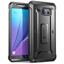 Galaxy Note 5 Unicorn Beetle Pro Full Body Rugged Holster Case with Screen Protector-Black