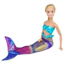 Tưởng Tượng Nàng Tiên Cá Bơi Trang Phục Cho Búp Bê Barbie Búp Bê BJD Quần  Áo Phụ Kiện Nhà Chơi Đầm Ôm|Phụ Kiện Búp Bê