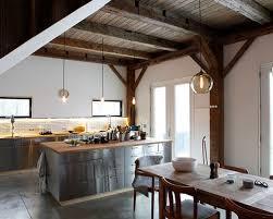 houzz kitchen lighting. rustic eatin kitchen idea in new york with flatpanel cabinets wood houzz lighting