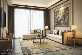 chinese style decor: big nose classic living room design