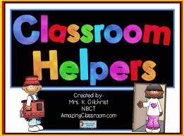 Classroom Helpers Chart Classroom Helpers Job Chart Promethean Activinspire