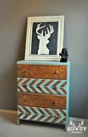 do it yourself furniture projects. Rustic Herringbone Dresser - 40 Home Decor Ideas You Can Build Yourself Do It Furniture Projects
