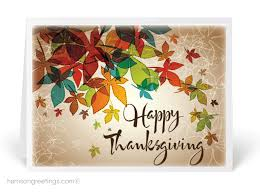 Thanksgiving Greeting Cards Ourbestcats Info
