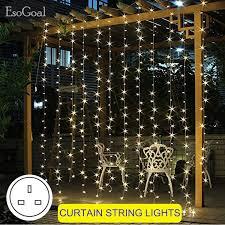 50 100 200 Led Solar Fairy Lights Outdoor Waterproof Street