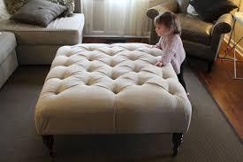 diy upholstered ottoman coffee table ottoman furniture
