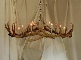 real antler chandeliers canoe deer antler lamps uk