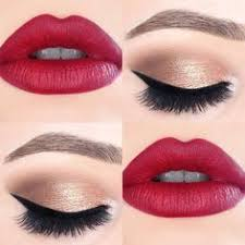 clic makeup idea love it makeup with red lipstick makeup looks with red lips