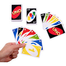 uno color number matching card game for 2 10 players ages 7y walmart