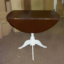 picture of easy way to make a drop leaf dining table