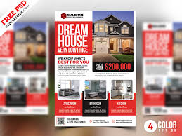 Psd Real Estate Flyer Templates By Psd Freebies On Dribbble