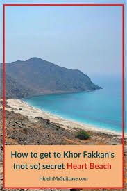November 23, 2019 a hike to khor fakkan hidden beach from fujairah united arab emirates were 85 awesome people participated for the hike (including me). How To Get To Khor Fakkan S Not So Secret Heart Beach And Why You Shouldn T Bother Hide In My Suitcase