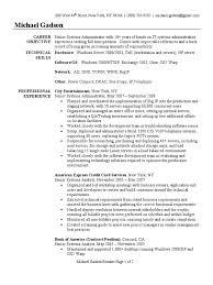 Download Linux System Administration Sample Resume