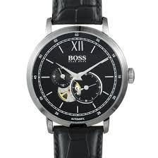 hugo boss signature men s watch black 1513504 luxury bazaar luxurybazaar com