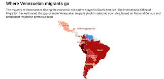 Charts Venezuela Four Charts Explain The Exodus From Venezuela Where