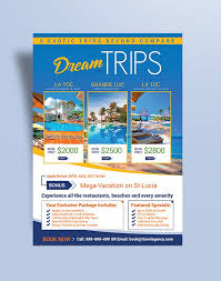 Travel Agency Brochure Template Free | Joshymomo.org