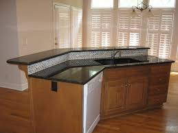 Granite Islands Kitchen Sink Island Kitchen Island With Sink And Stove Top Curved