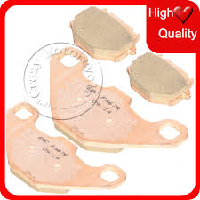 sintered copper motorcycle parts motorbike front rear brake pads