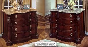 Wood Lateral File Cabinet 2 Drawer Mahogany Wood Lateral File Cabinet With Marble Top