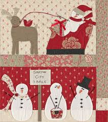 Merry Merry Snowman Quilt Kit — The Stitching Well & Merry Merry Snowman Quilt Kit Adamdwight.com