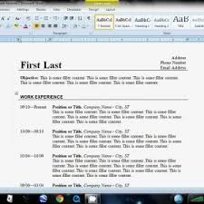 Cover Letter How To Format Resume In Word How To Format A Resume In