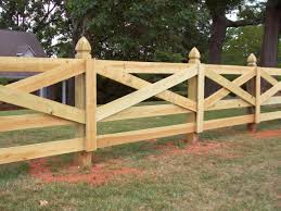 Wood Ranch Fence Styles Fences Ideas
