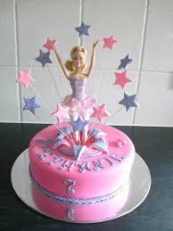 8 Ballerina Barbie Cakes Photo Barbie Ballerina Cakes Ideas