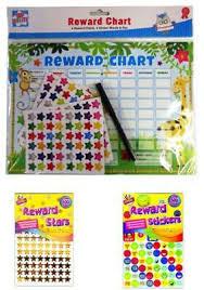 Childrens Behaviour Reward Chart Star Smiley Reward