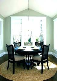 square rug under round dining table area rug under dining table dining table carpet area rug