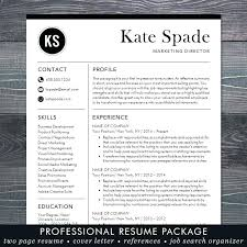 Modern Resume Template Free Download Resume Corner