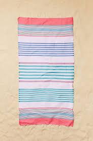 Beach towels Rolled Beach Towels Beach Accessories Elle Decor 15 Beach Towels That Will Double As Summer Accessory Summer Fashion