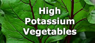 Low Potassium Foods List Chart 20 Vegetables High In Potassium A Ranking From Highest To