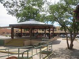 taos plaza the gazebo was donated by mabel dodge luhan